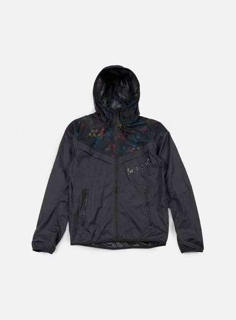 giacche nike ru jacket black black