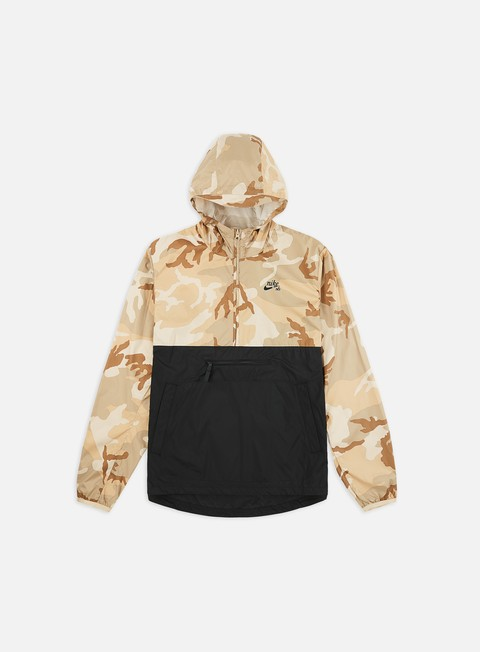 Outlet e Saldi Giacche con cappuccio Nike SB Camo Anorak Jacket