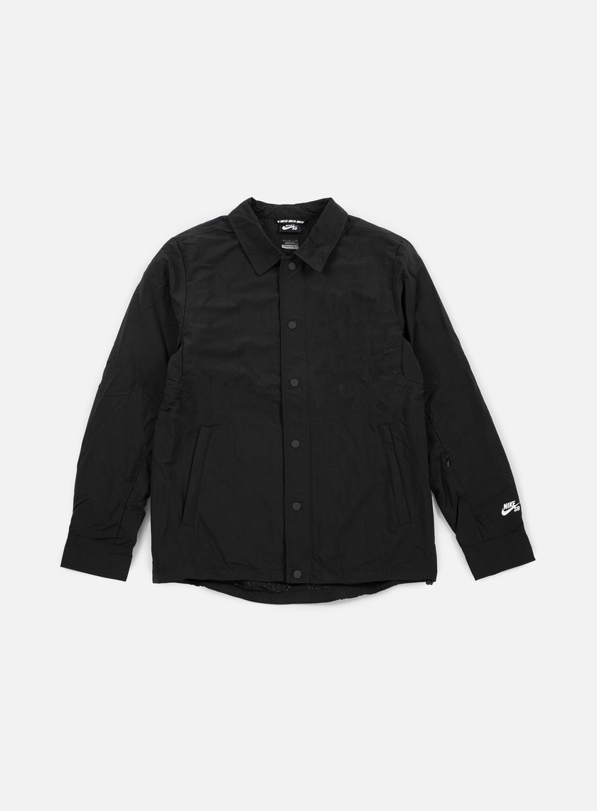 Nike SB - Coach Jacket, Black/White