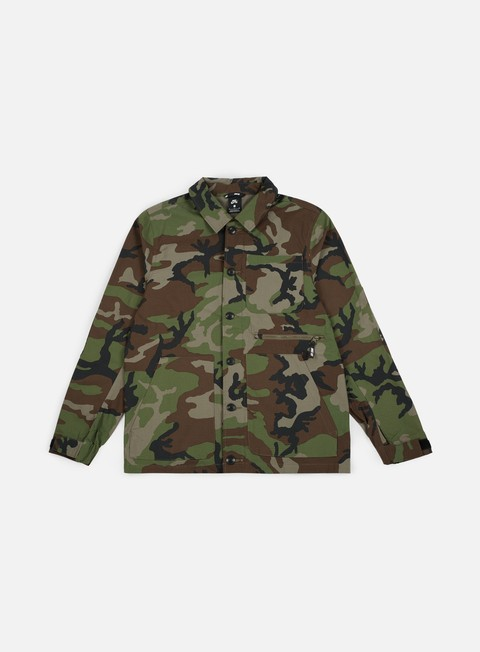 giacche nike sb dri fit flex jacket medium olive black