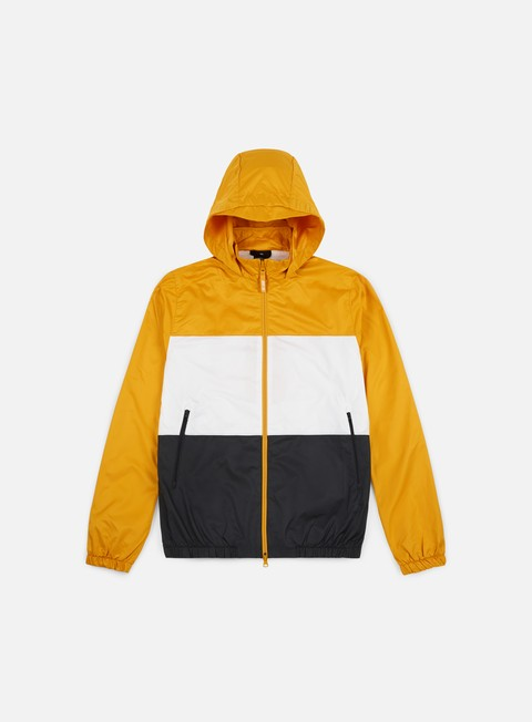 giacche nike sb dry hooded jacket yellow ochre white anthracite