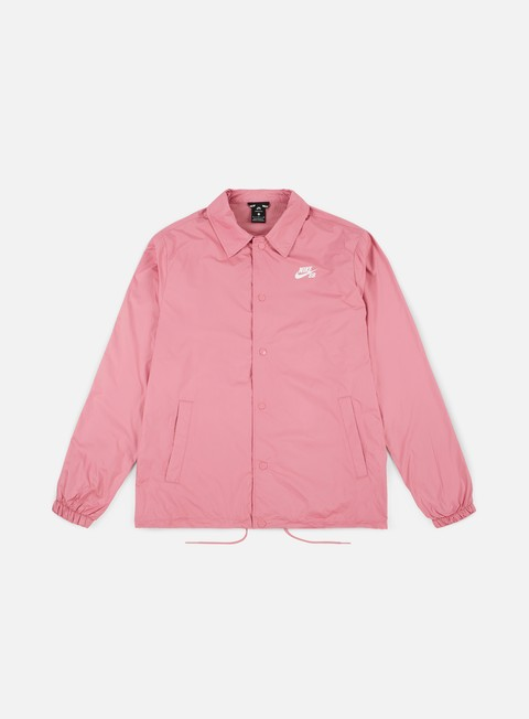 giacche nike sb shield coaches jacket elemental pink white