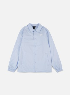 Nike SB - Shield Coaches Jacket, Hydrogen Blue/White