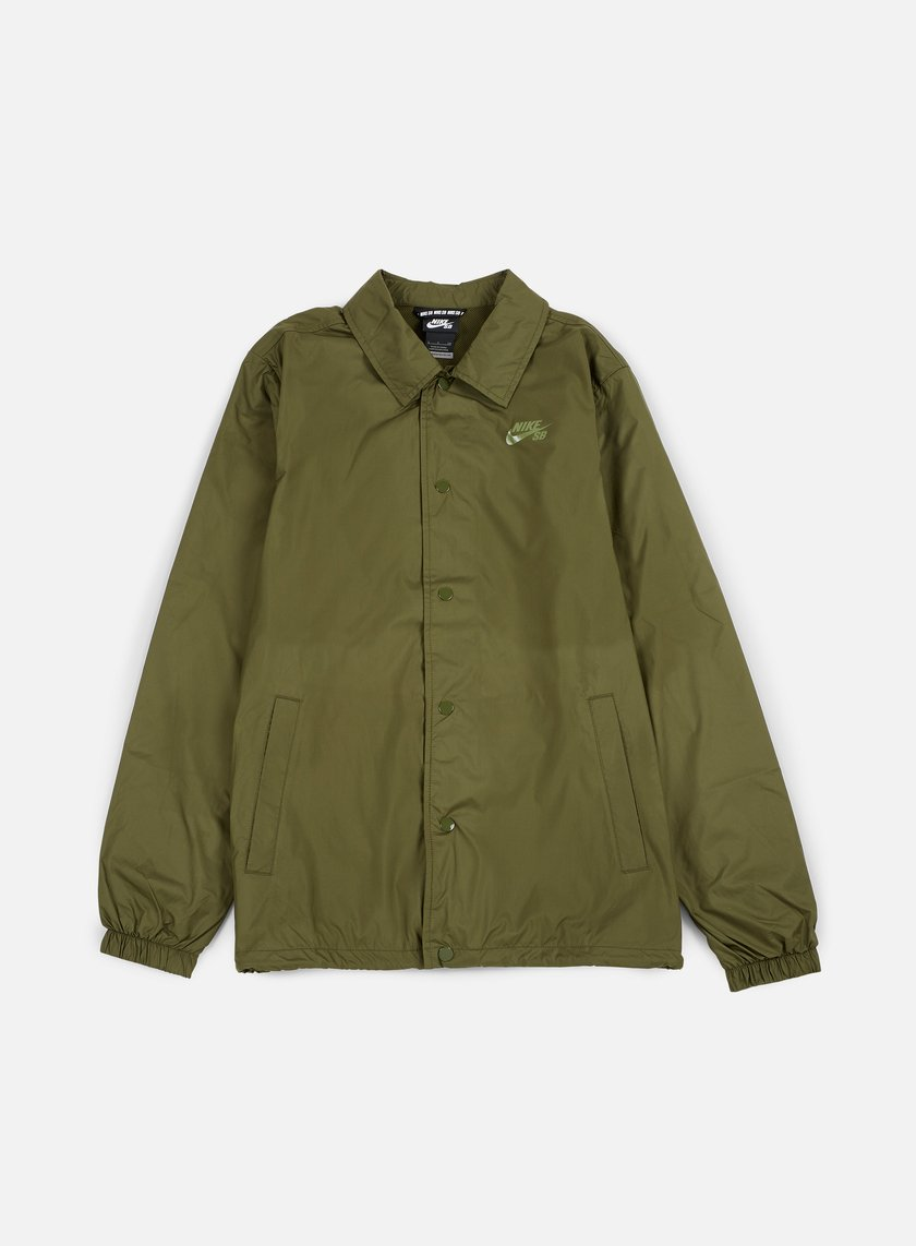 Nike SB - Shield Coaches Jacket, Legion Green/Palm Green