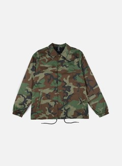 Nike SB - Shield Coaches Jacket, Medium Olive/Black