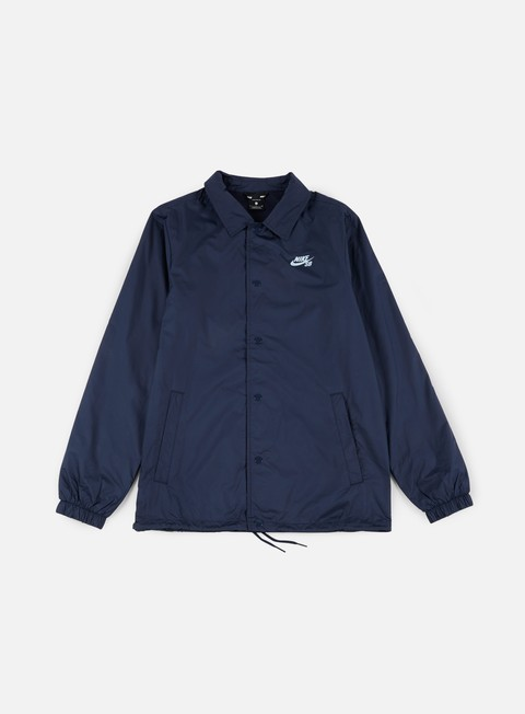 giacche nike sb shield coaches jacket obsidian hydrogen blue