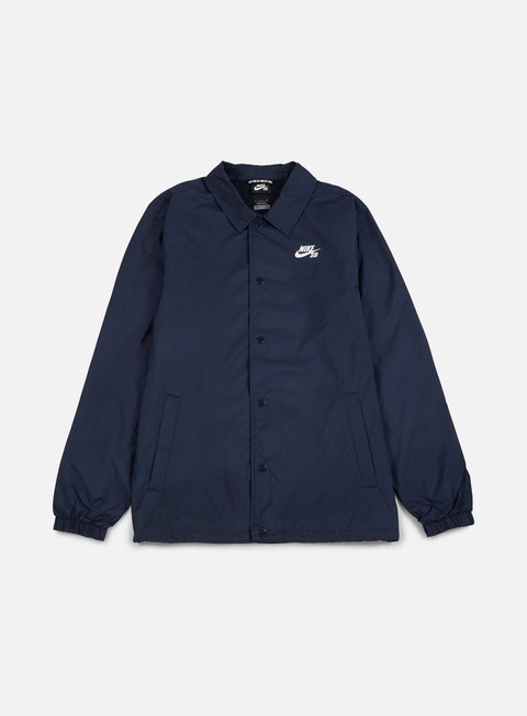 giacche nike sb shield coaches jacket obsidian white