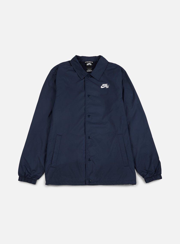 Nike SB - Shield Coaches Jacket, Obsidian/White