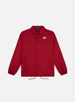 Nike SB - Shield Coaches Jacket, Red Crush/White