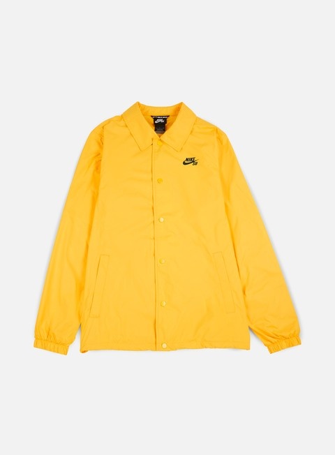 giacche nike sb shield coaches jacket tour yellow obsidian
