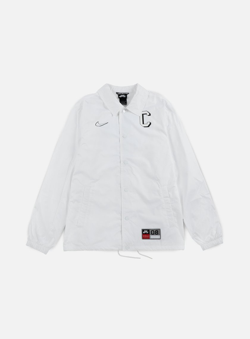 Nike SB - Shield Coaches Jacket, White/Black