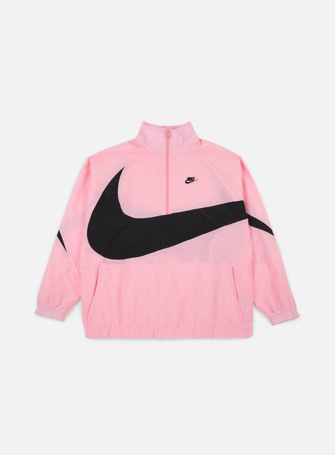 Windbreaker Nike Swoosh Woven Half Zip Jacket