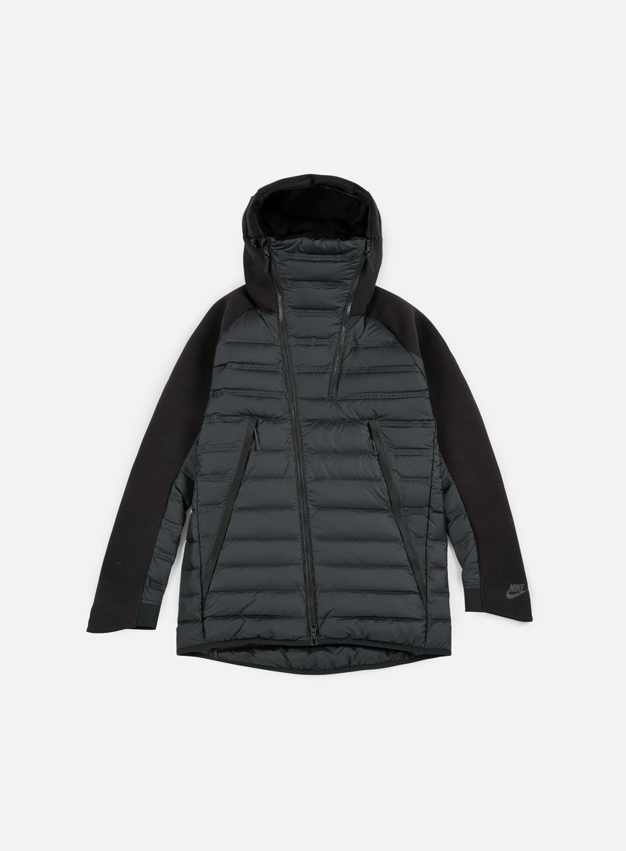 Nike - Tech Fleece Aeroloft Jacket, Black/Black