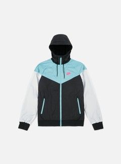 Nike - Windrunner, Black/Racing Pink