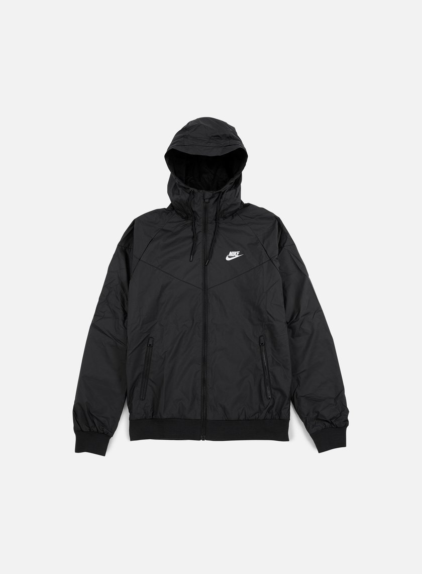 Nike - Windrunner, Black/White