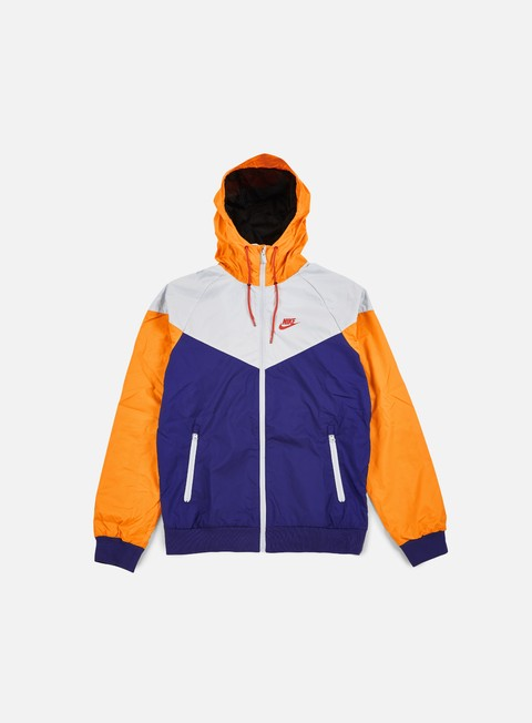 giacche nike windrunner deep royal blue light crimson