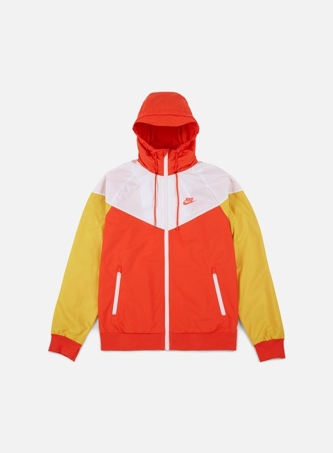 giacche nike windrunner team orange team orange