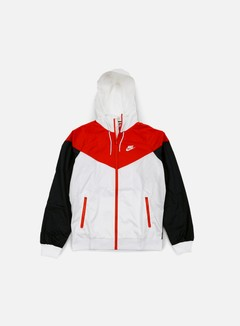 Nike - Windrunner, White/Light Crimson