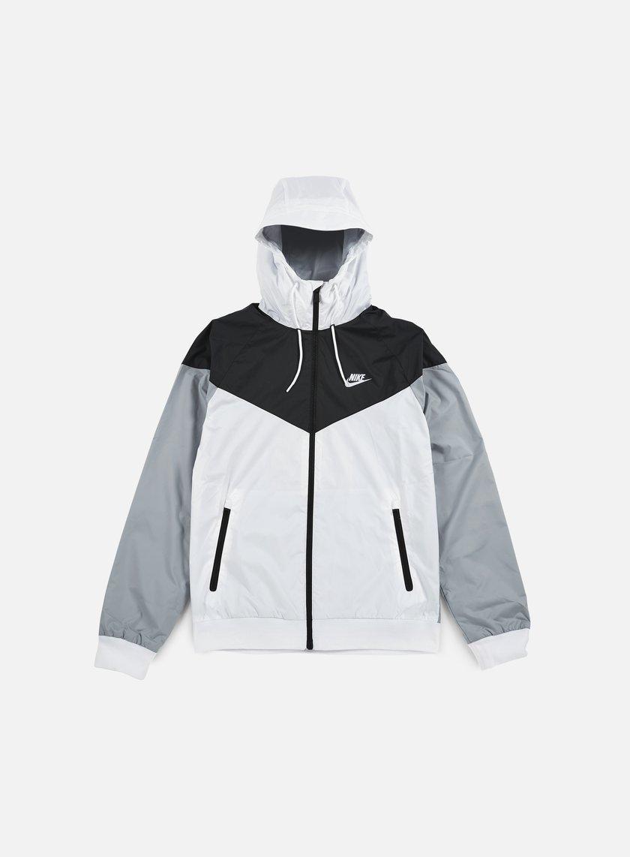 Nike - Windrunner, White/White