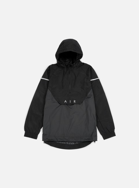 giacche nike woven anorak air jacket black