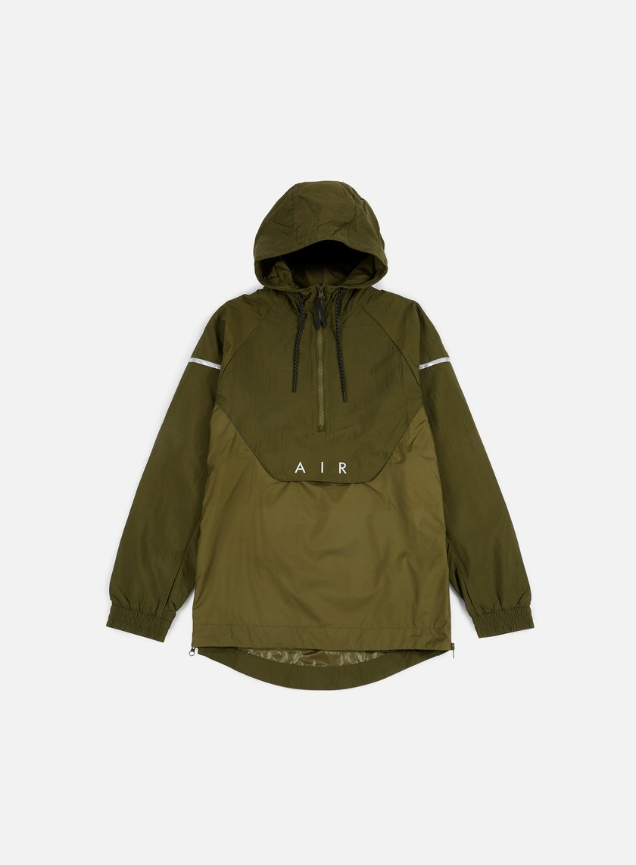 Nike - Woven Anorak Air Jacket, Legion Green