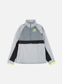 Nike - Woven Archive Half Zip Jacket, Wolf Grey/Cool Grey 1