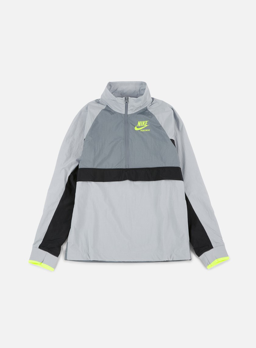Nike - Woven Archive Half Zip Jacket, Wolf Grey/Cool Grey