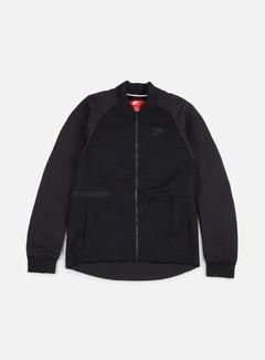 Nike - Woven Varsity Jacket, Black/Black 1