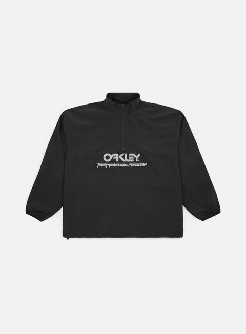 giacche oakley tnp reflective anorak jacket blackout