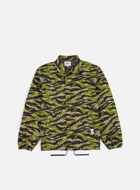Outlet e Saldi Giacche Intermedie Oakley TNP Tiger Camo Coach Jacket