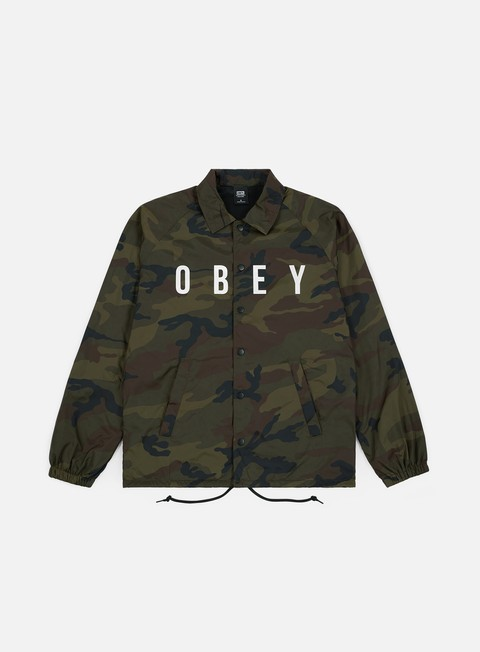 Sale Outlet Light Jackets Obey Anyway Coach Jacket