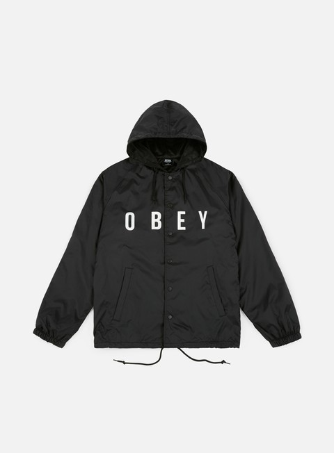 giacche obey anyway jacket black