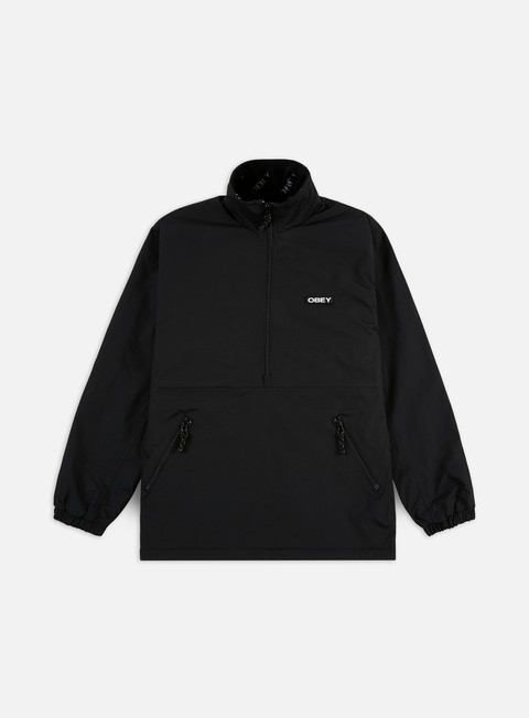 Intermediate Jackets Obey Attitude Mock Anorak