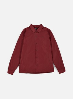 Obey - Baker Graphic Jacket, Burgundy 1