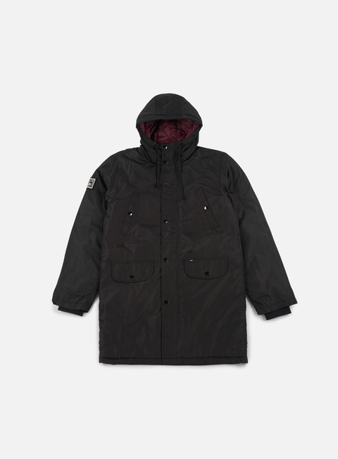 giacche obey blizzard jacket black