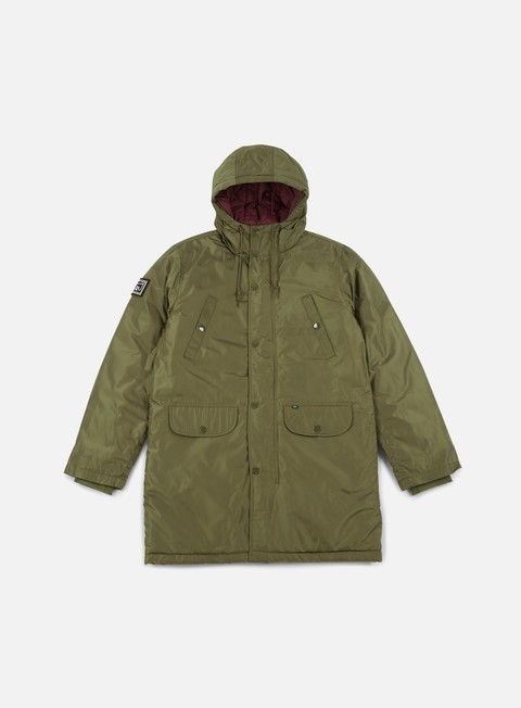 giacche obey blizzard jacket dusty army