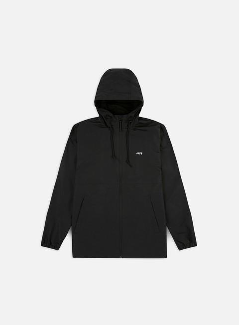 Hooded Jackets Obey Caption Jacket