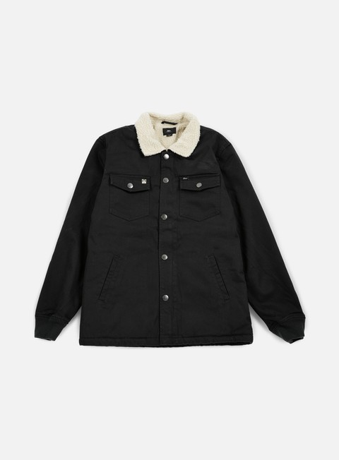 giacche obey colton jacket black