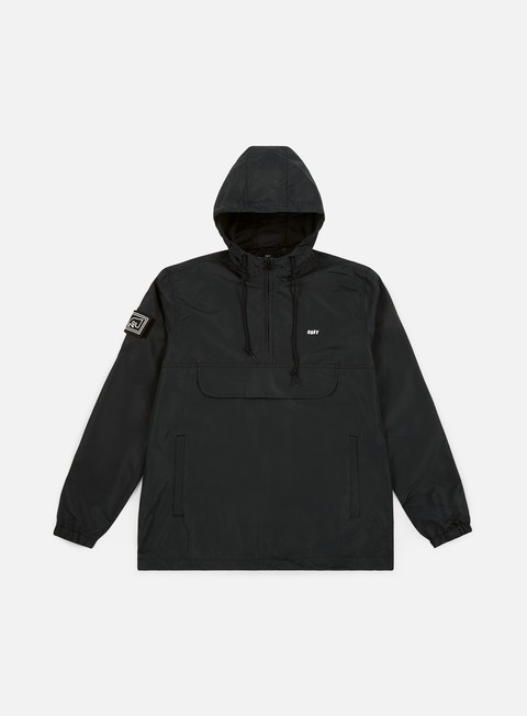Giacche con Cappuccio Obey Crosstown II Anorak Jacket