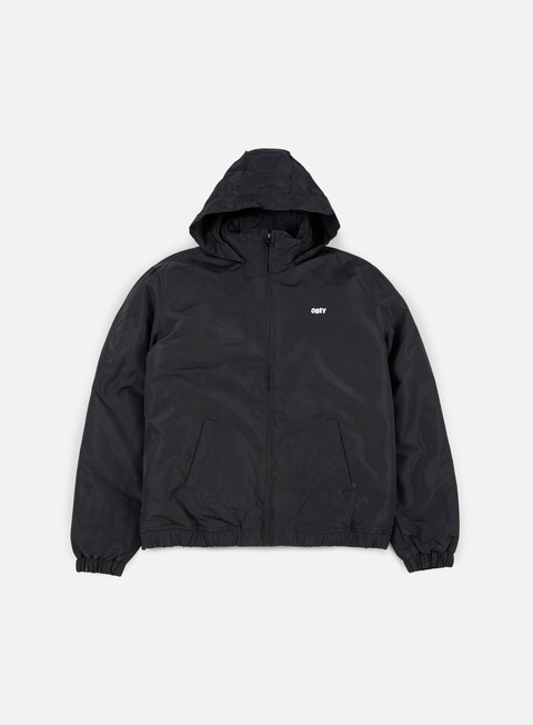 giacche obey debaser jacket black