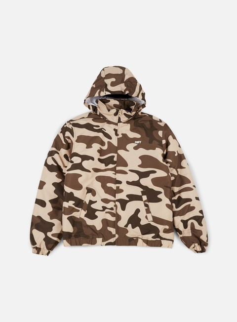 giacche obey debaser jacket camo