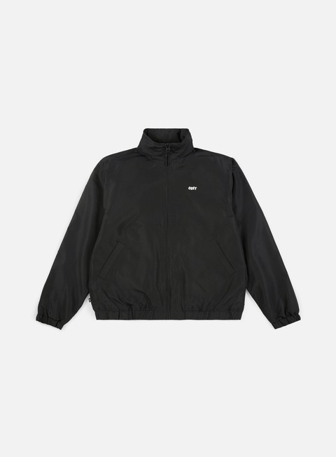 giacche obey debaser shell jacket black