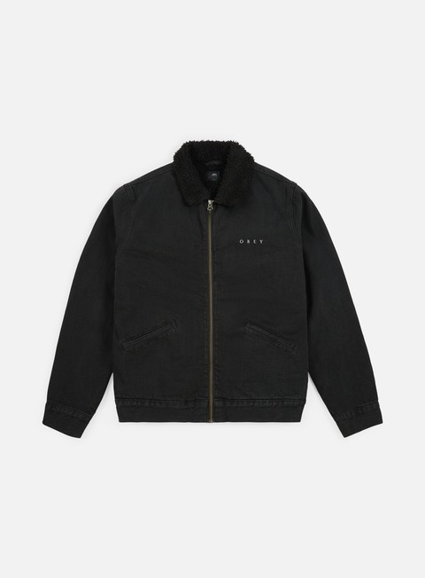 Intermediate Jackets Obey Division Denim Jacket