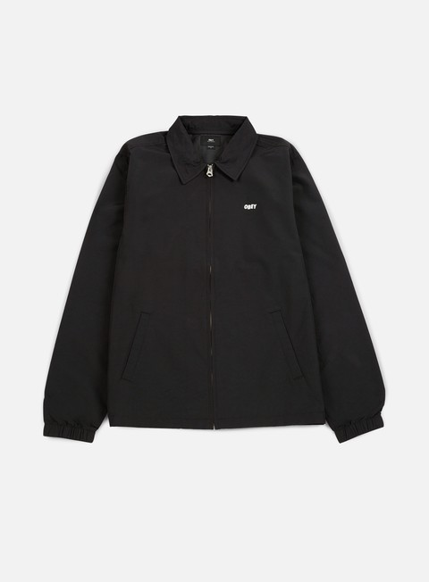 giacche obey eighty nine jacket black