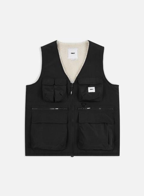 Outlet e Saldi Giacche Smanicate Obey External Vest