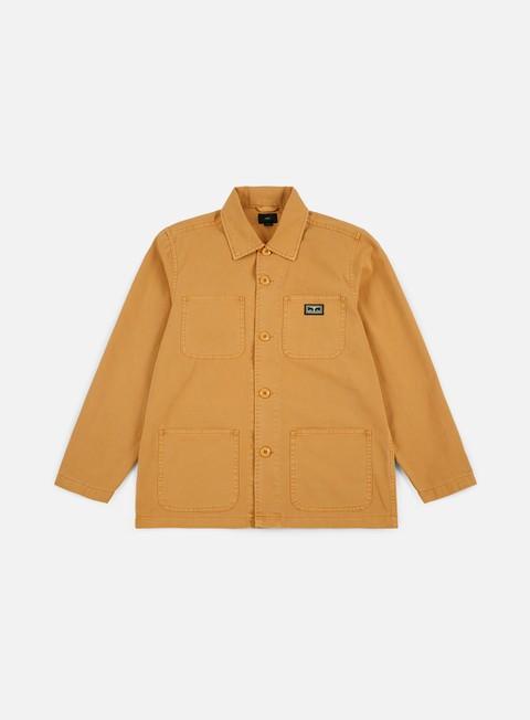 Giacche Intermedie Obey Hard Work Jacket