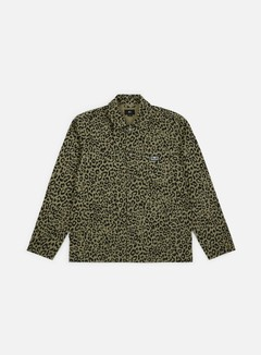 Obey - Hard Work Labor Jacket, Khaki Leopard