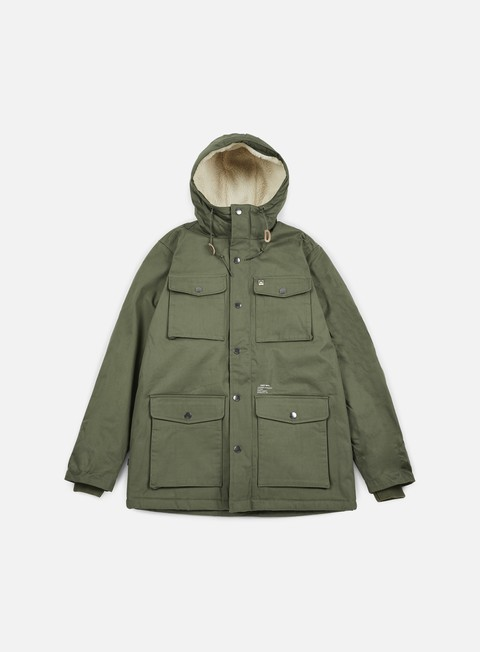 giacche obey heller jacket army