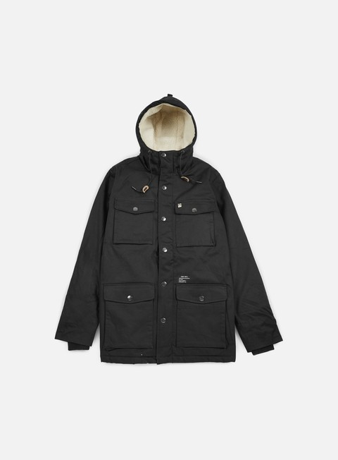 giacche obey heller jacket black