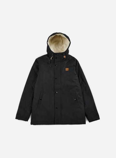 giacche obey hillman jacket black